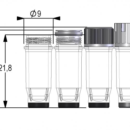0.40ml Screw Cap Tube V-bottom