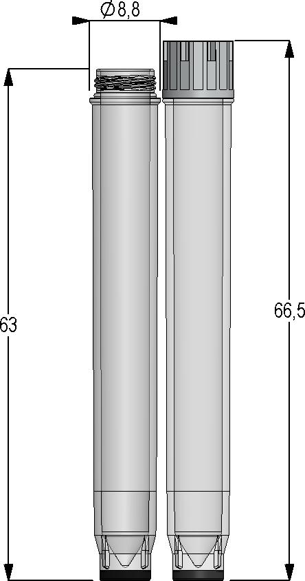 2.00ml Tubes External Thread
