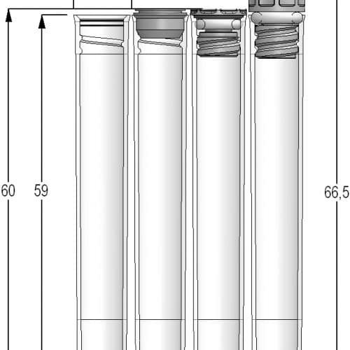 2.00ml Tubes Internal Thread