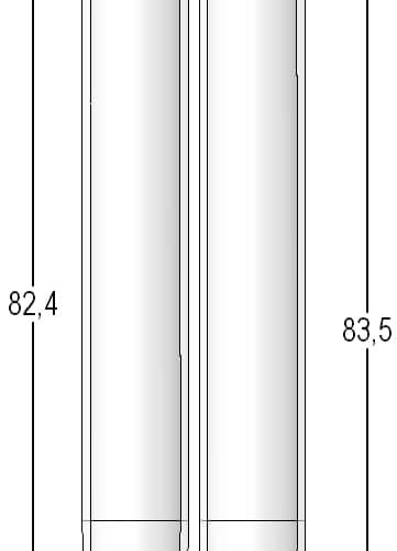 2.50ml tube in 96-format