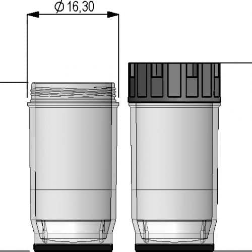 3.50ml tube in 24-well format
