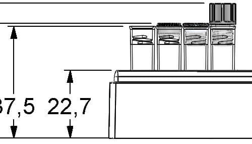 Micronic 96-3 Rack dimensions