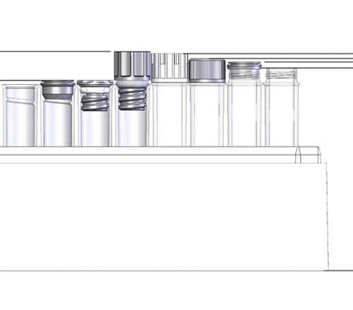 1.40ml Tube in Rack Dim.