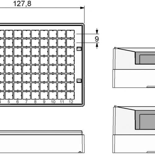 Micronic 96-3 Rack dimensions
