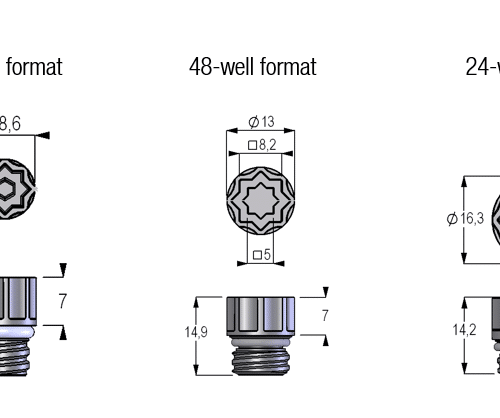 Screw Caps internal thread dimensions