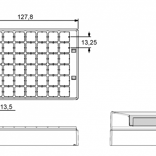 Micronic 48-3 Rack dimensions