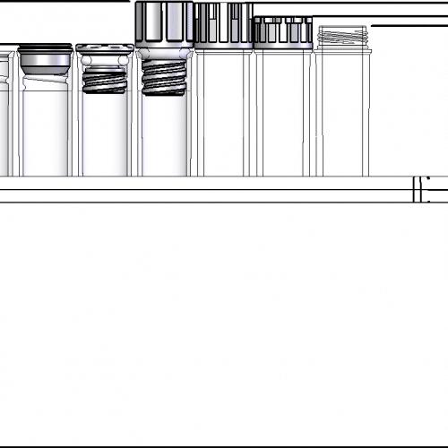 2.00ml Tube in Rack Dimensions