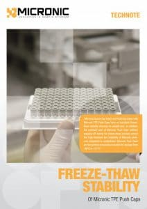 Technote freeze-thaw stability