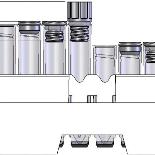 Roborack-96 dimensions
