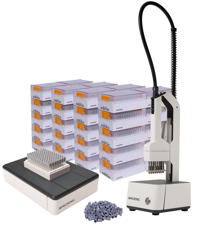 Sample Storage Starter Packs with Screw Caps