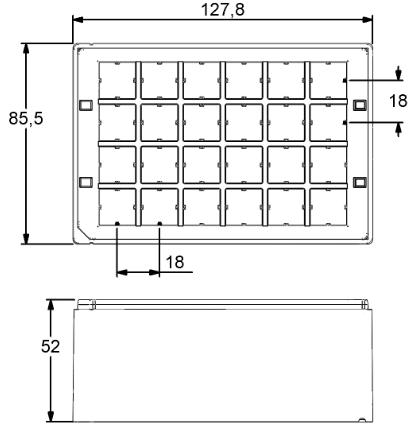 Micronic 24-6 Rack dimensions