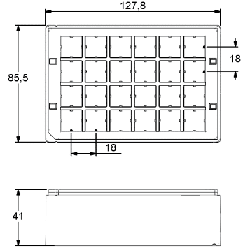 Micronic 24-5 Rack dimensions