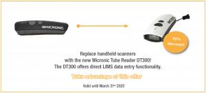 Q1 Promotion Tube Reader DT300