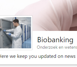 Showcase page Biobanking LinkedIn