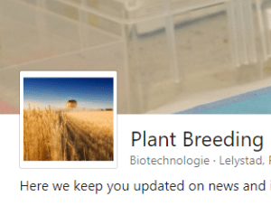 Showcase page Plantbreeding Linkedin
