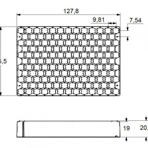 138-2 HD Rek dimensions